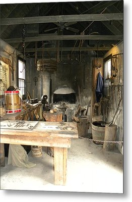 Blacksmith Metal Print by Kim Zwick