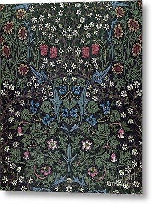 Blackthorn Wallpaper Design Metal Print