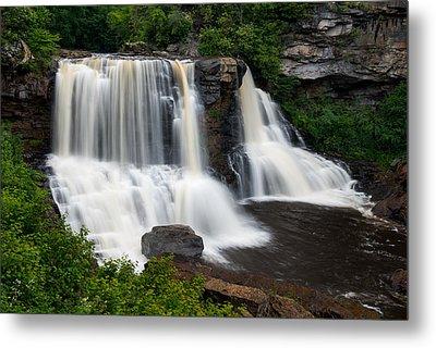 Blackwater Falls State Park West Virginia Metal Print by Rick Dunnuck
