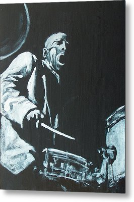 Blakey Metal Print by Pete Maier