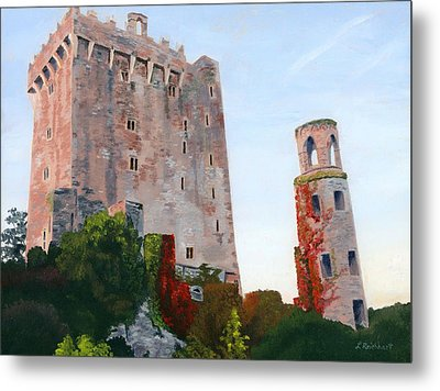 Metal Print featuring the painting Blarney Castle by Lynne Reichhart