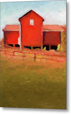 Bleak House Barn No. 4 Metal Print