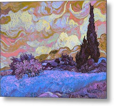 Blend 20 Van Gogh Metal Print by David Bridburg