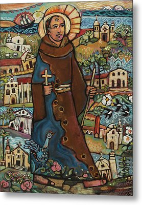 Blessed Junipero Serra Metal Print