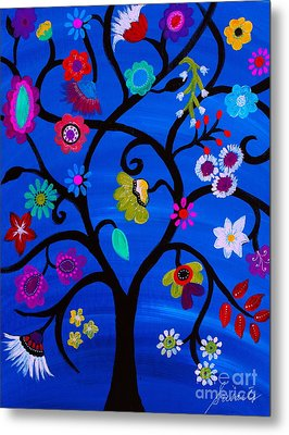 Blessed Tree Of Life Metal Print