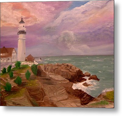 Blessing In D Skies Metal Print by Mary Kaser