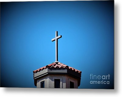 Metal Print featuring the photograph Blessings To Everyone Of All Faiths by Ray Shrewsberry