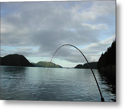 Hisnit Inlet And Sunny Bligh Metal Print