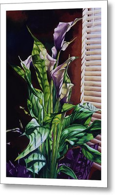 Blind Luck Lilies Metal Print by Mike Hill
