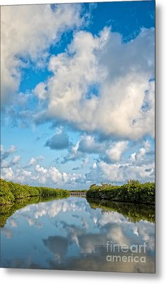 Blind Pass Bowman Beach Sanibel Florida Metal Print