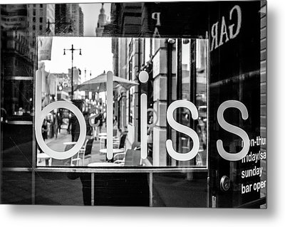 Metal Print featuring the photograph Bliss by David Sutton