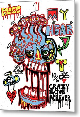 Bliss For My Heart Metal Print