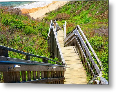 Block Island Beach - Rhode Island Metal Print by Lourry Legarde