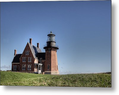 Block Island  Southeast Light Metal Print