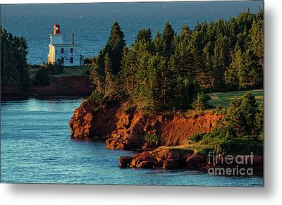 Blockhouse Point Lighthouse Metal Print
