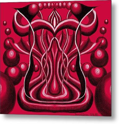 Blood Altar. Metal Print