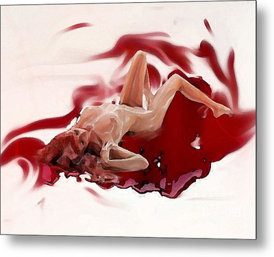 Blood Bath Metal Print