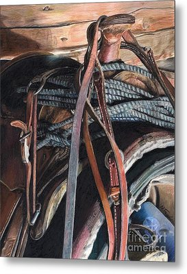 Blood Sweat And Tears Metal Print by Nichole Taylor
