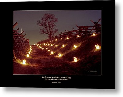 Bloody Lane 99 Metal Print by Judi Quelland