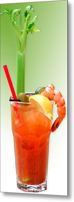 Bloody Mary Hand-crafted Metal Print