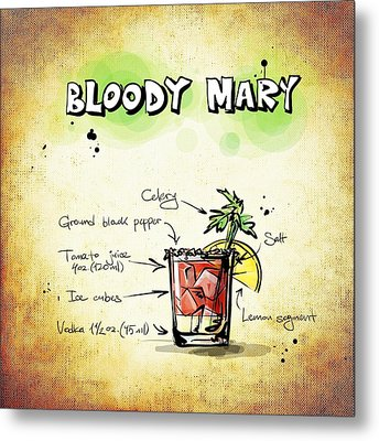 Bloody Mary Metal Print by Movie Poster Prints