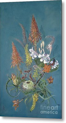 Blooms From The Bush Metal Print by Rita Palm