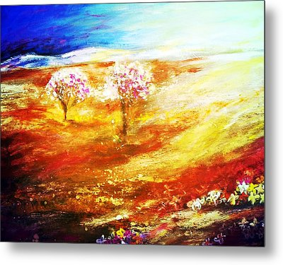 Blossom Dawn Metal Print