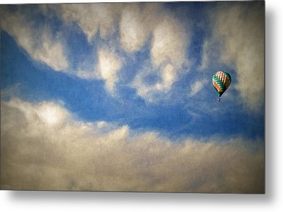 Blown Into A Soft Sky Metal Print by Glenn McCarthy Art and Photography