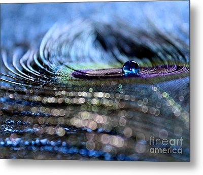 Blue Aquarius Metal Print