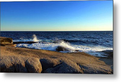 Blue Atlantic Metal Print by Heather Vopni