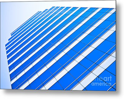 Metal Print featuring the photograph Blue Day by Yurix Sardinelly