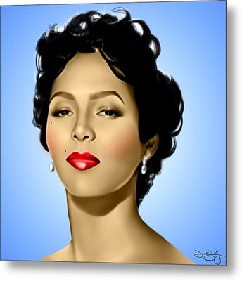 Blue Dorothy Metal Print by Davonte Bailey