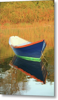 Metal Print featuring the photograph Blue Dory by Roupen  Baker
