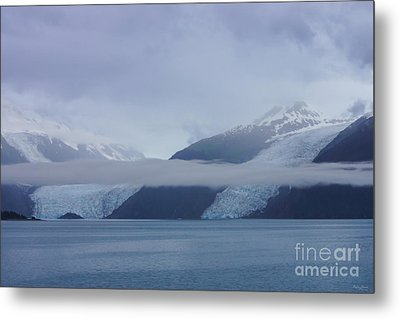 Blue Escape In Alaska Metal Print by Jennifer White