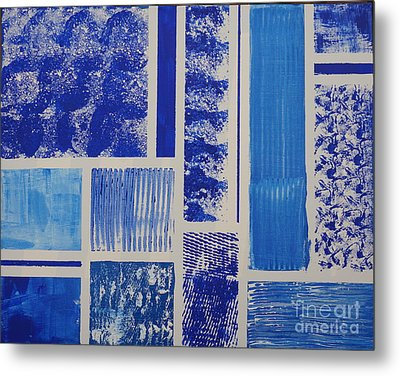 Blue Expo Metal Print