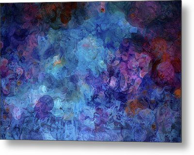 Blue Grotto Painting  Metal Print