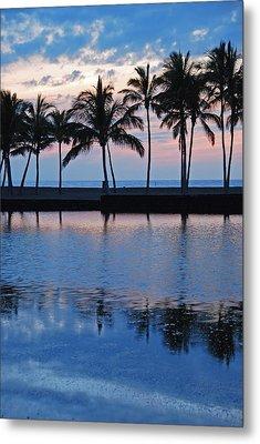 Blue Hawaiian Metal Print