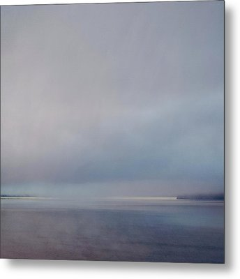 Metal Print featuring the photograph Blue Haze by Sally Banfill