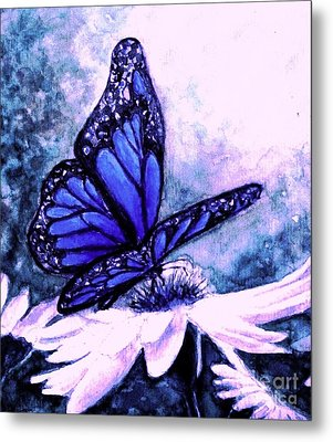 Blue Heaven Metal Print by Hazel Holland