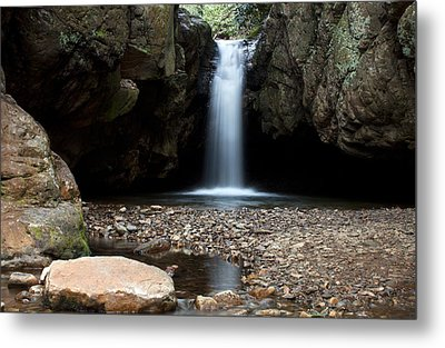 Metal Print featuring the photograph Blue Hole In Spring #2 by Jeff Severson