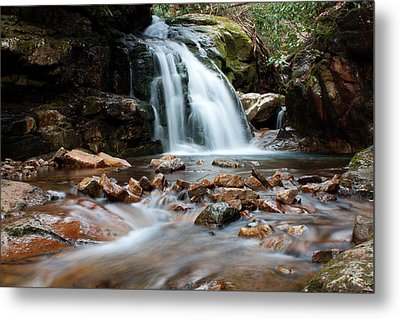 Metal Print featuring the photograph Blue Hole In Spring #3 by Jeff Severson