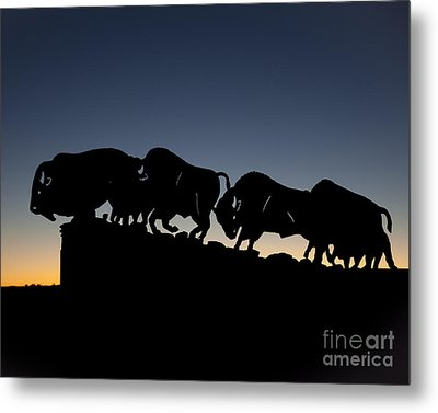 Metal Print featuring the photograph Blue Hour 16x20 by Melany Sarafis