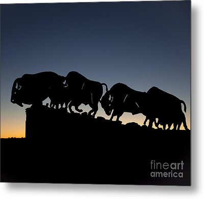 Metal Print featuring the photograph Blue Hour 24x20  by Melany Sarafis