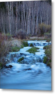 Blue Hour Streaming Metal Print by James BO Insogna