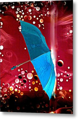 Blue Magic Metal Print by Marcia Lee Jones