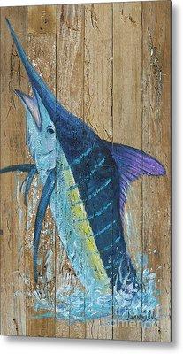 Blue Marlin Metal Print by Danielle Perry