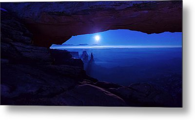 Blue Mesa Arch Metal Print by Chad Dutson