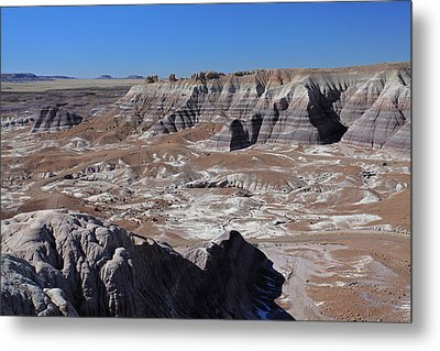 Metal Print featuring the photograph Blue Mesa by Gary Kaylor