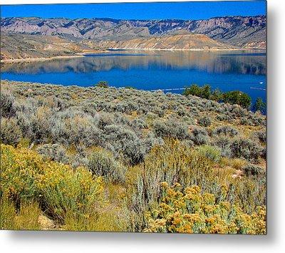 Blue Mesa Reservoir 1 Metal Print