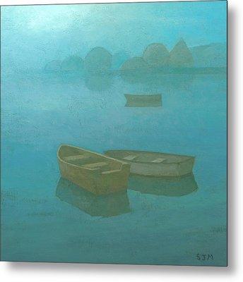 Blue Mist Metal Print by Steve Mitchell